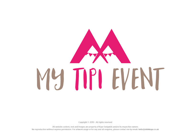 OhhhKaye Branding and Logo Design My Tipi Event