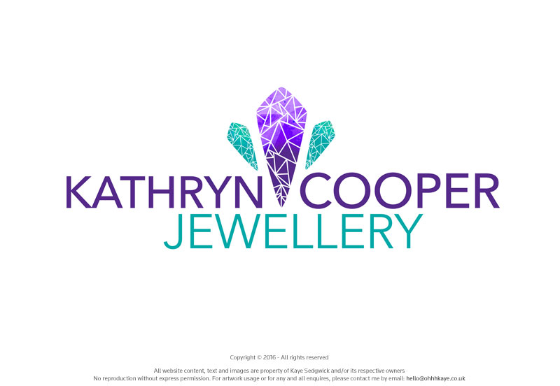 OhhhKaye Branding and Logo Design Kathryn Cooper Jewellery