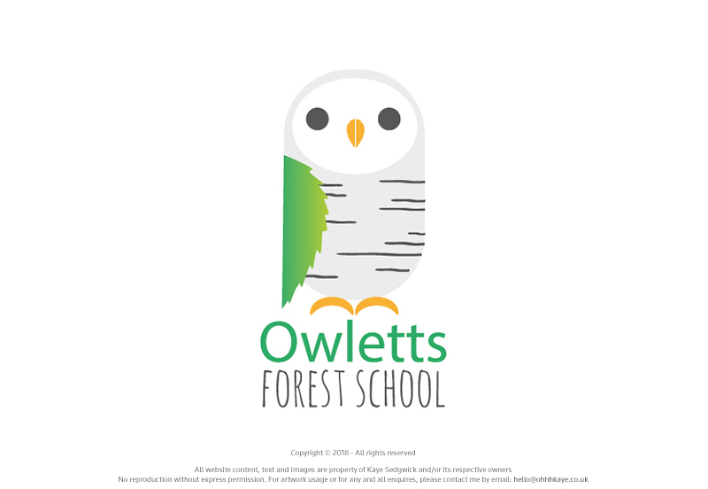 OhhhKaye Branding and Logo Design Owletts Forest School