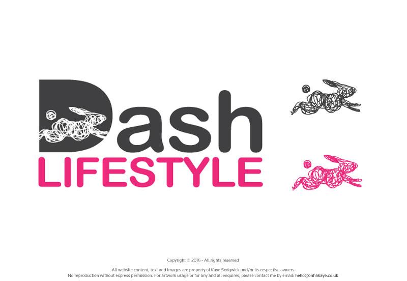 OhhhKaye Branding and Logo Design Dash Lifestyle