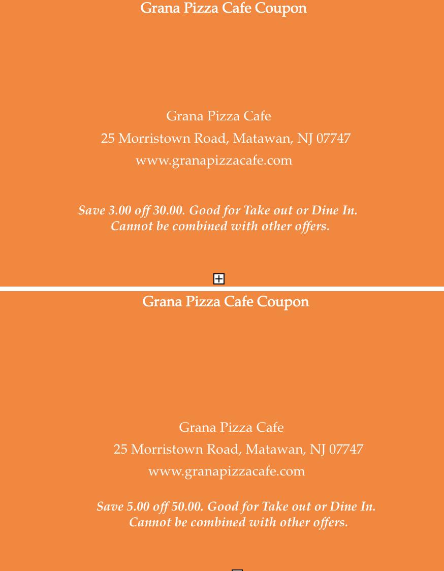 Grana Pizza Cafe Coupon.png