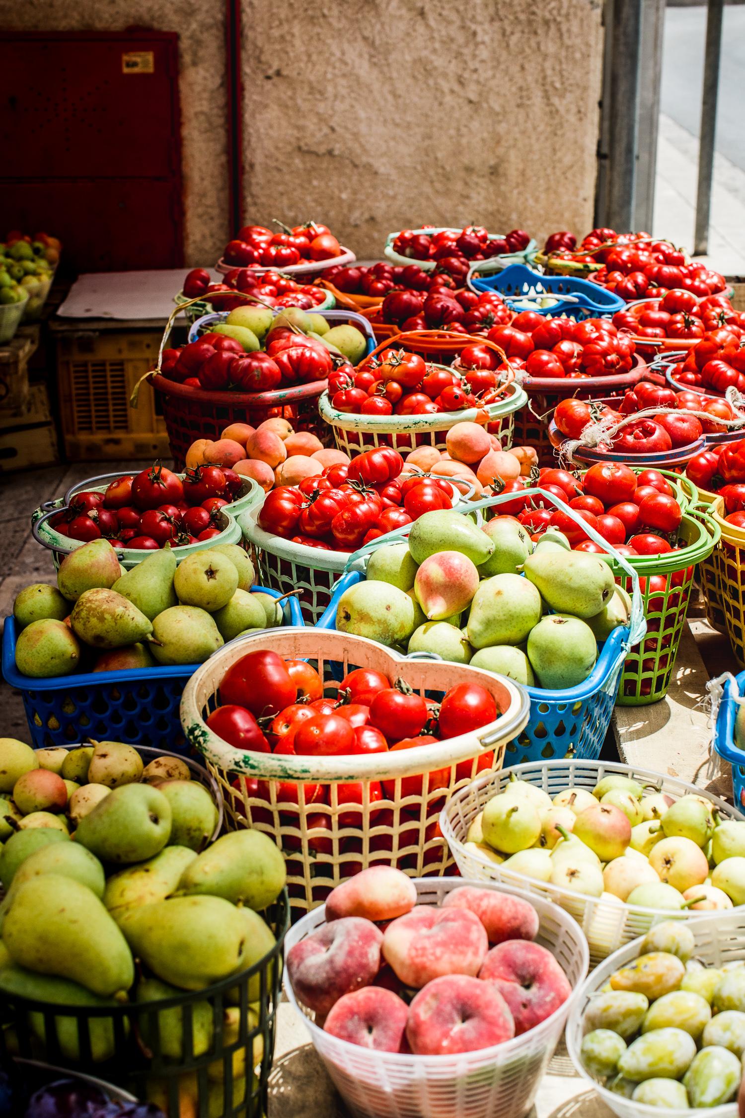 Sicilian fruit market