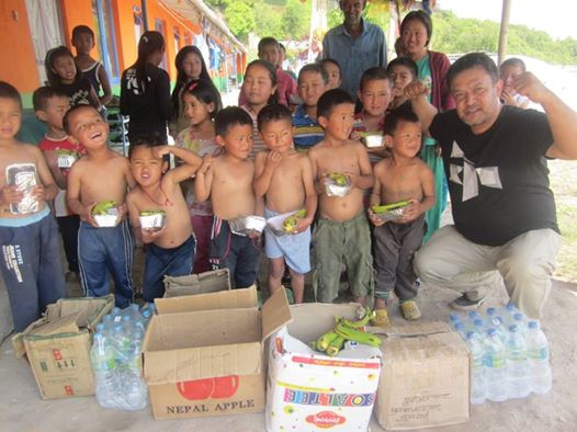 KIDS WE ARE HELPING FEED IN NEPAL