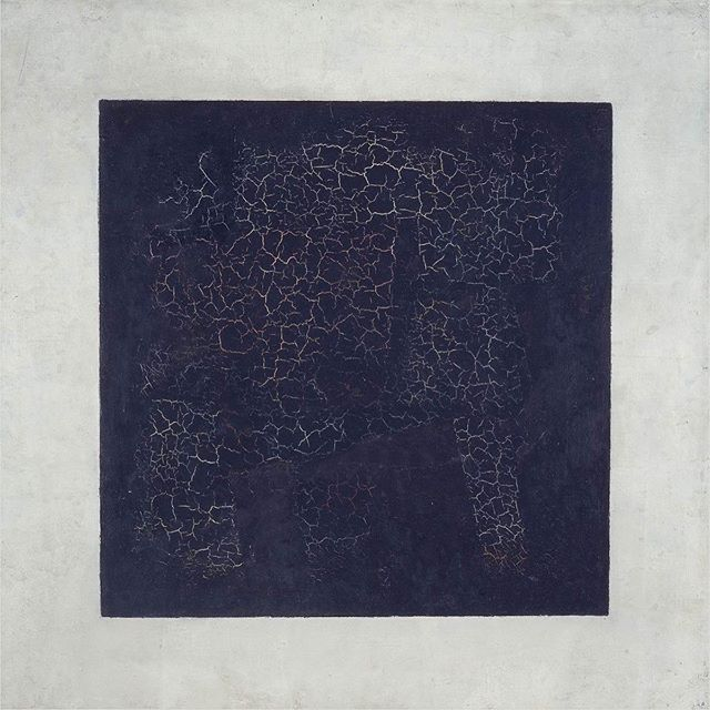I have a message to share with all of you soon. 👨🎨: Kasimir Malevich - black square