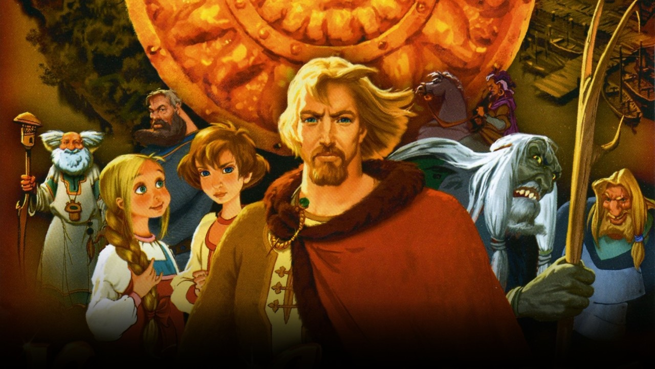 Prince Vladimir, 2006. This animated movie takes more a traditional and realistic approach to costumes. It is full of folk outfit, which is my favorite kind.