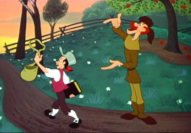 The Legend of Johnny Appleseed   is an animated   short    musical  segment from the 1948 film    Melody Time   .
