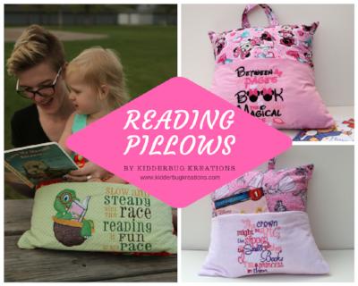 Reading Pillows for Girls