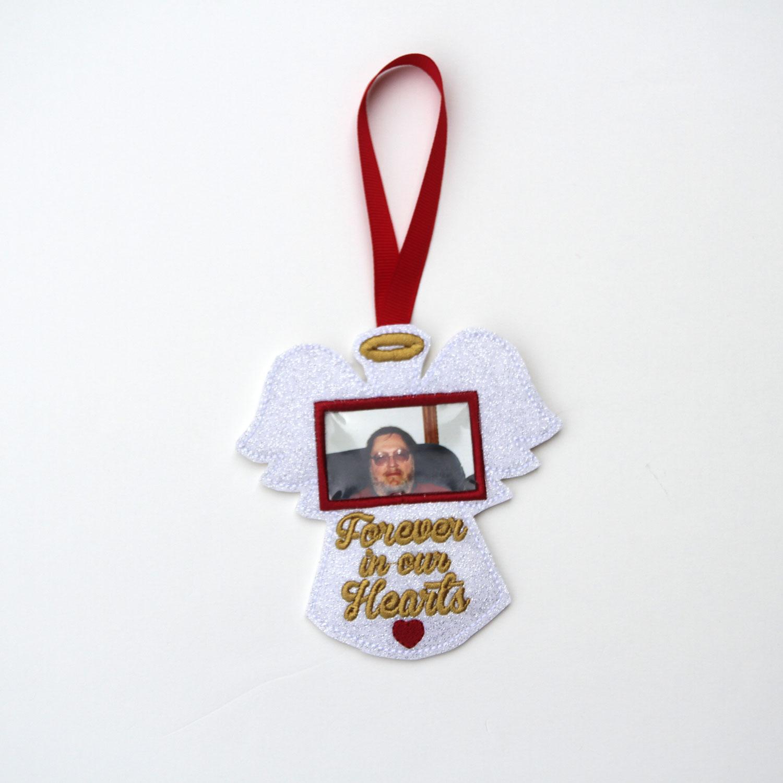 Angel Photo Holder Memorial Ornament