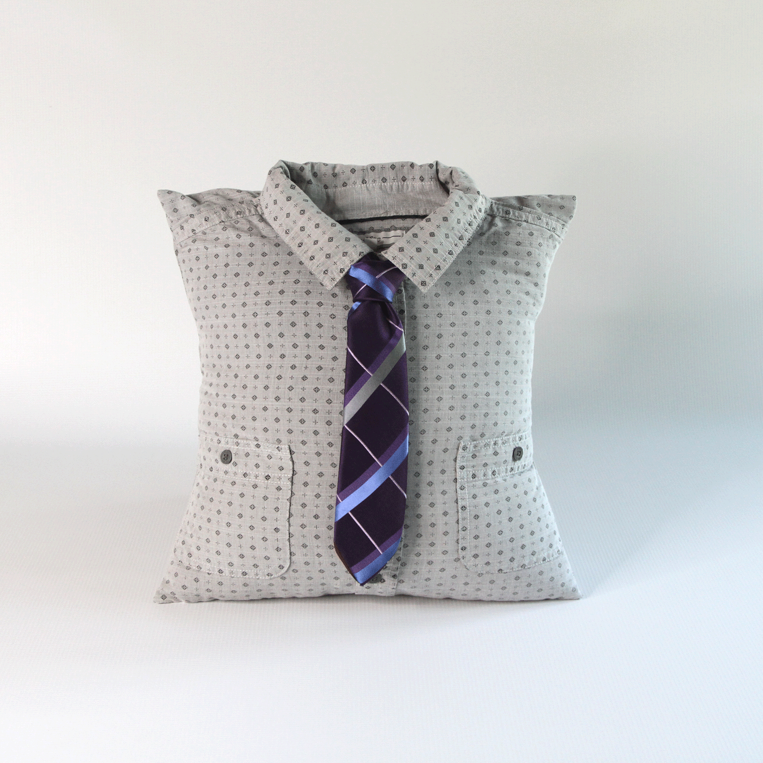 Memorial Pillow from clothing of loved one