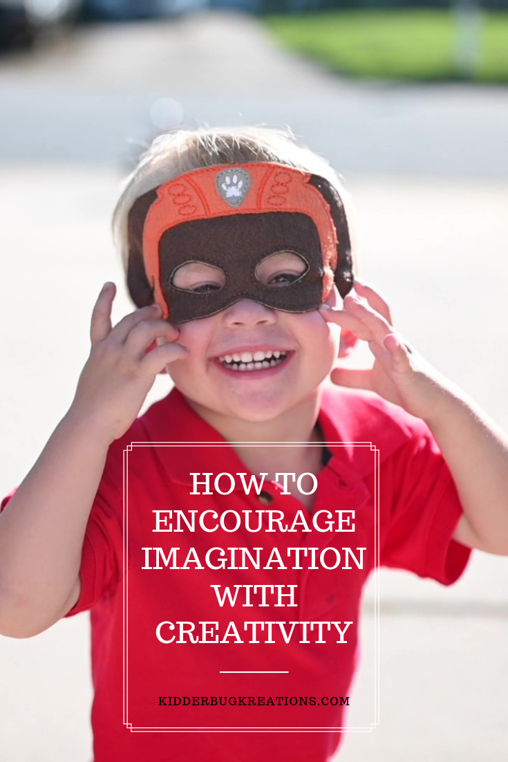 Encourage imagination with creativity and limit screen time.