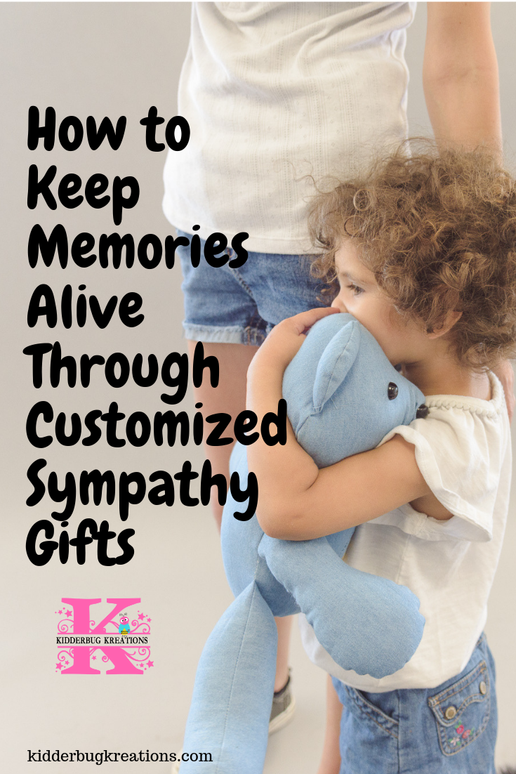 Custom memorial gifts from clothing of loved ones become treasured keepsakes