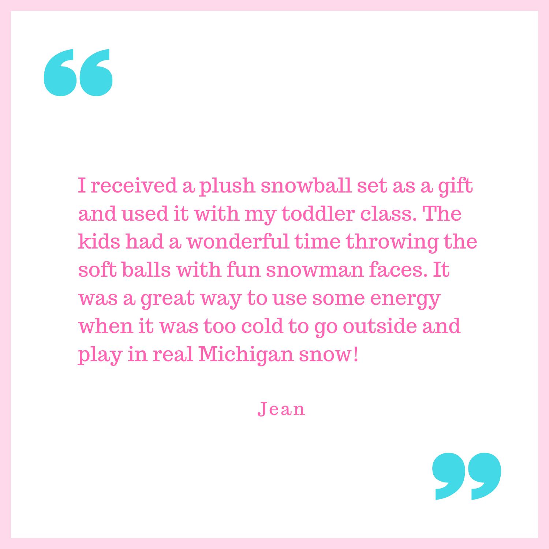 Jean's testimonial