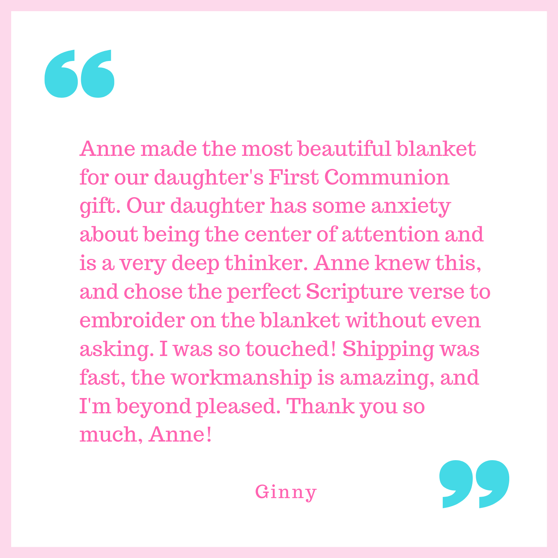 Ginny's testimonial