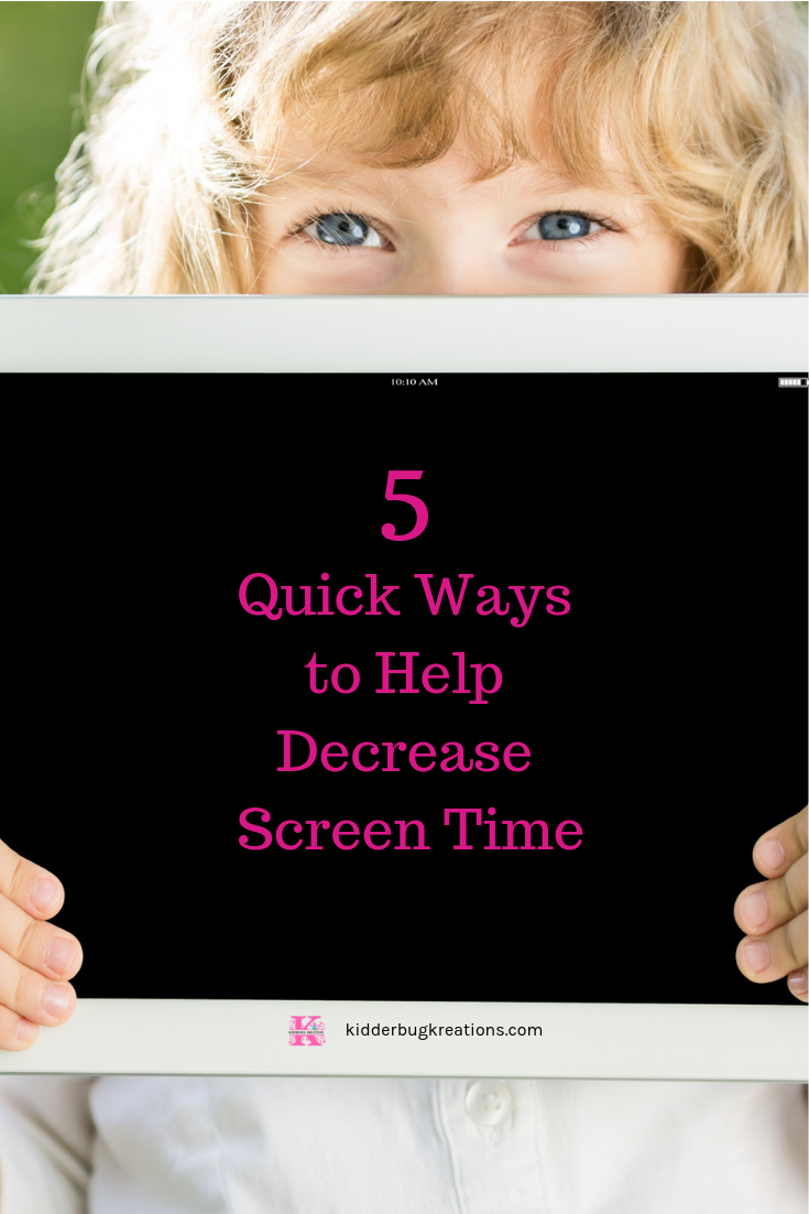 Ways to limit screen time for kids