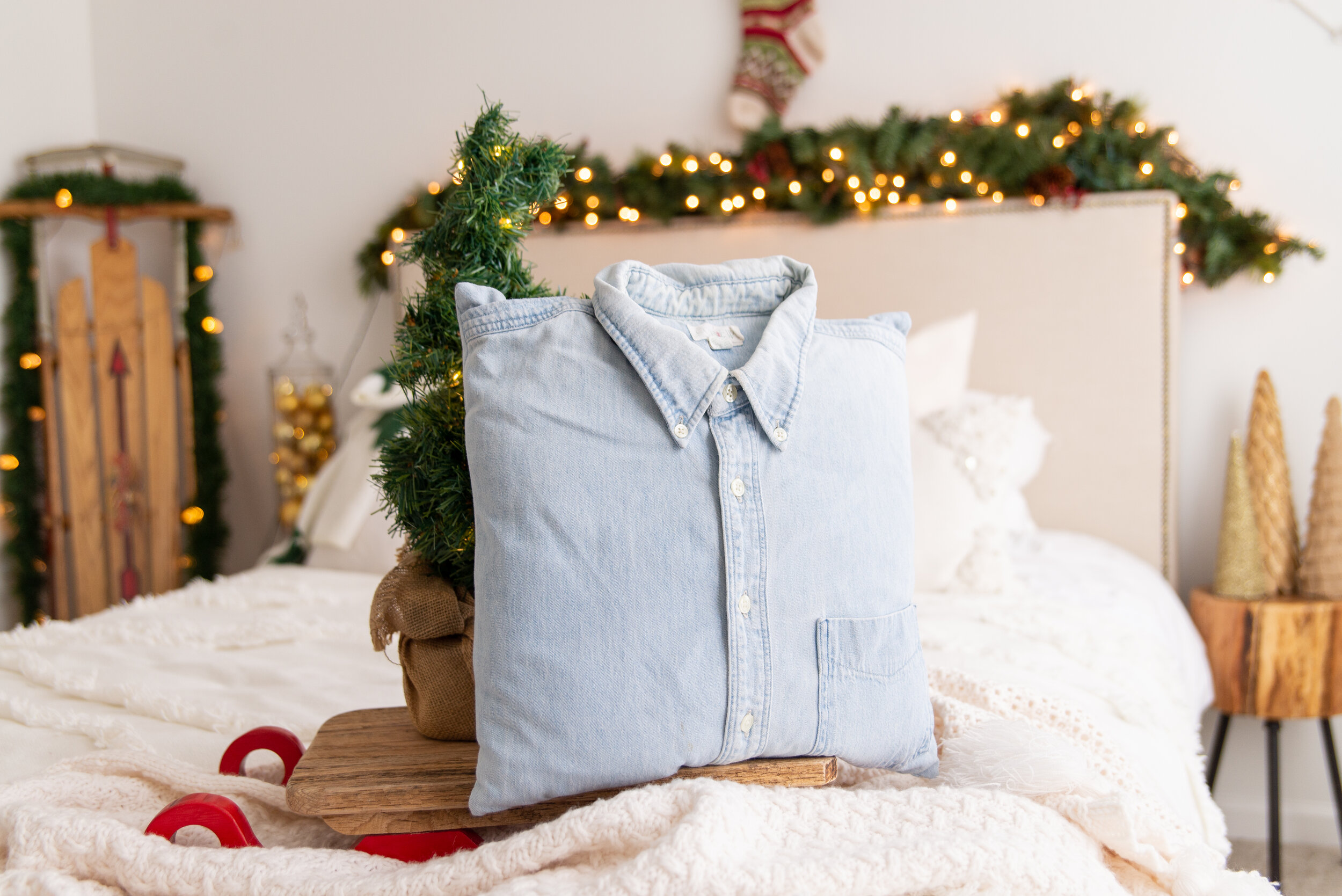 Memory Pillow from the clothing of a loved one