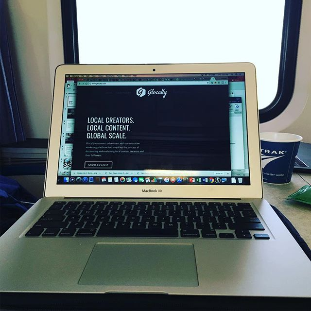 Hitting the Amtrack this week for a quick trip to San Diego!  Bringing the best local influencer marketing to all corners of Southern California!  #glocally_brand_ambassador #amtrak #sandiego