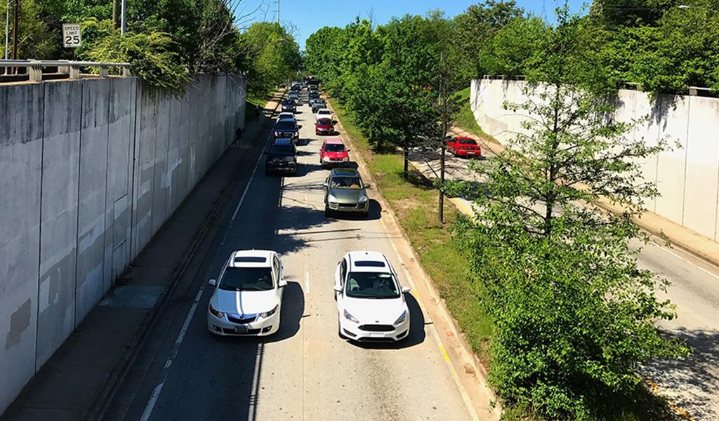 Commuting in Atlanta