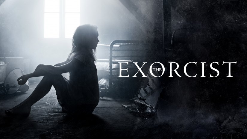 """A promotional image for Fox's """"The Exorcist"""" TV series. (Fox)"""