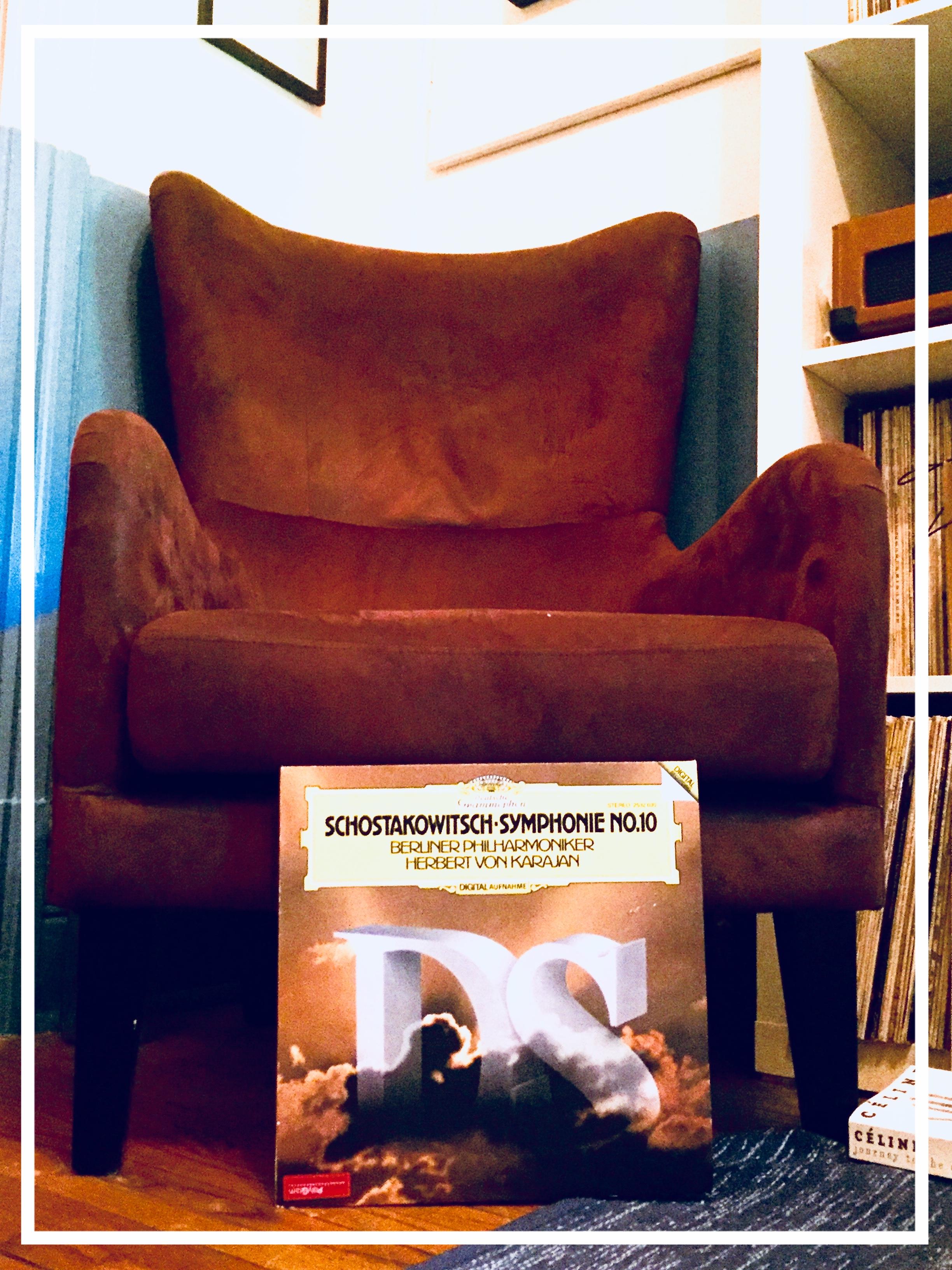 Shostakovitch Symphonie No. 10--Berlin Philharmonic--Conducted By Herbert Von Karajan