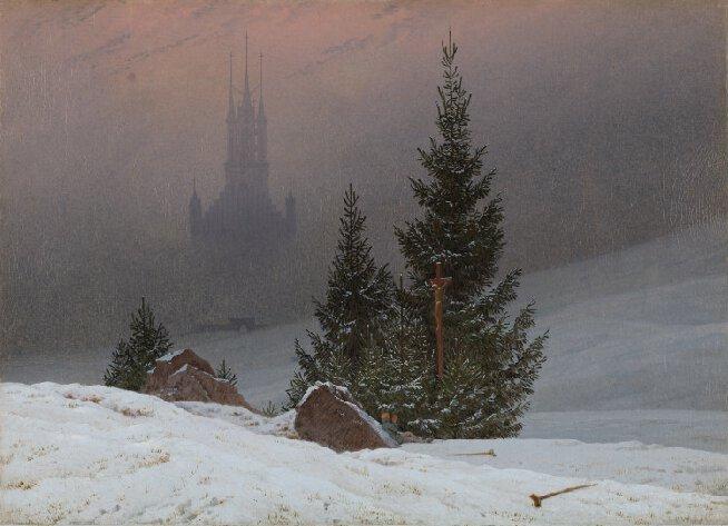 Winter Landscape — Caspar D. Friedrich, 1811
