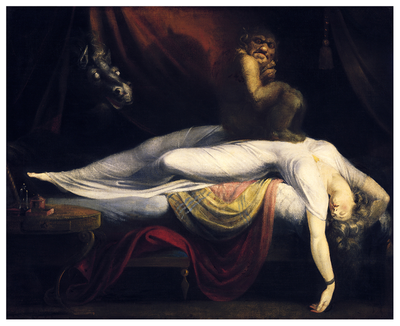 Henry Fuseli's 'The Nightmare' (theartstack.com)