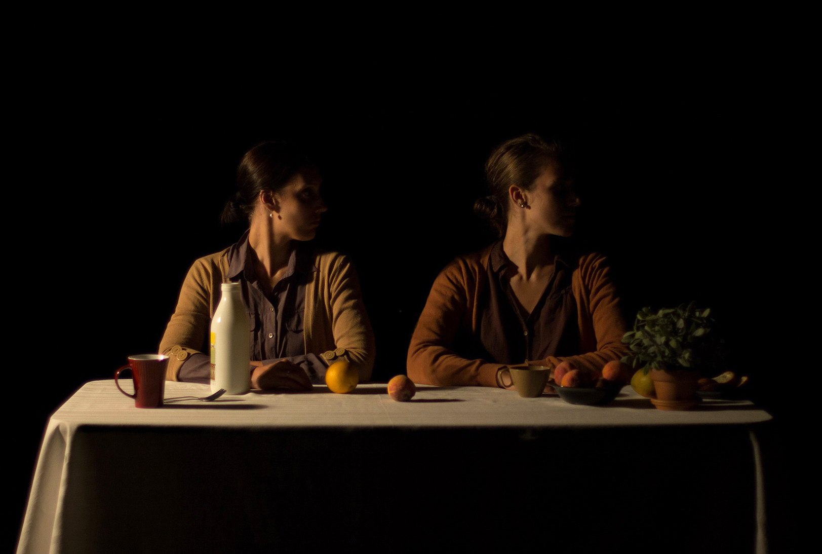 Katia-Marie Germain, Marie-Gabrielle Ménard in Habiter. Photo by Olivier Desjardins.