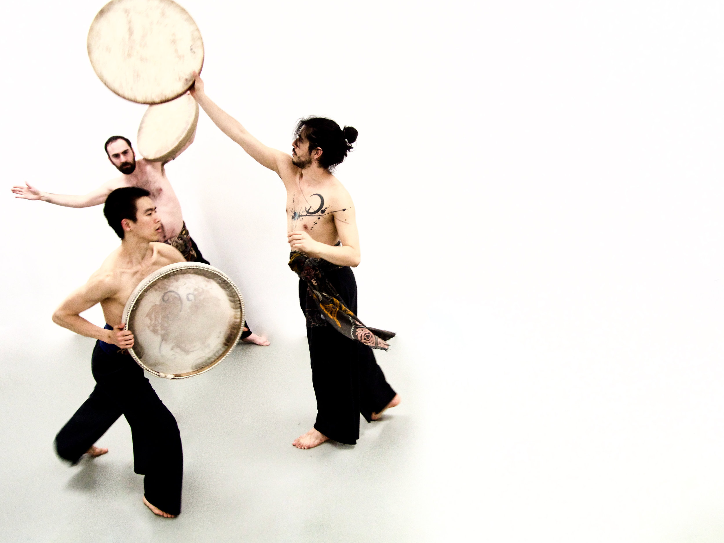 Mateo Galindo Torres, Luke Garwood, Yiming Cai in Sashar Zarif's Kismet: Opposing Destiny. Photo by Sashar Zarif