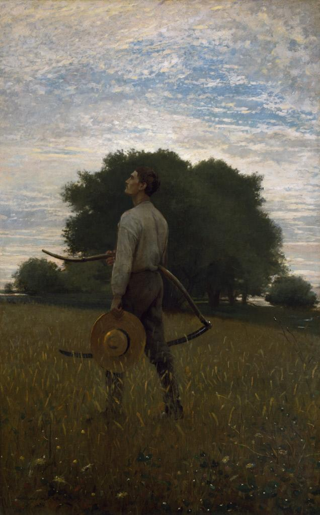 'Song of the Lark' by Winslow Homer (1876)