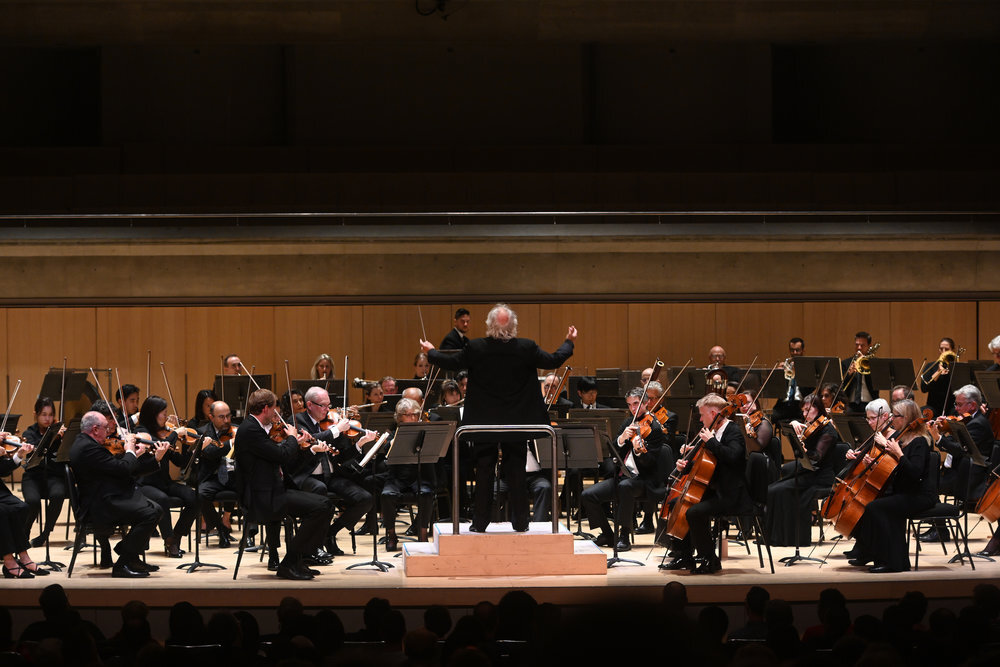 Donald Runnicles conducting the Toronto Symphony Orchestra — Courtesy of Toronto Symphony Orchestra and Jag Gundu
