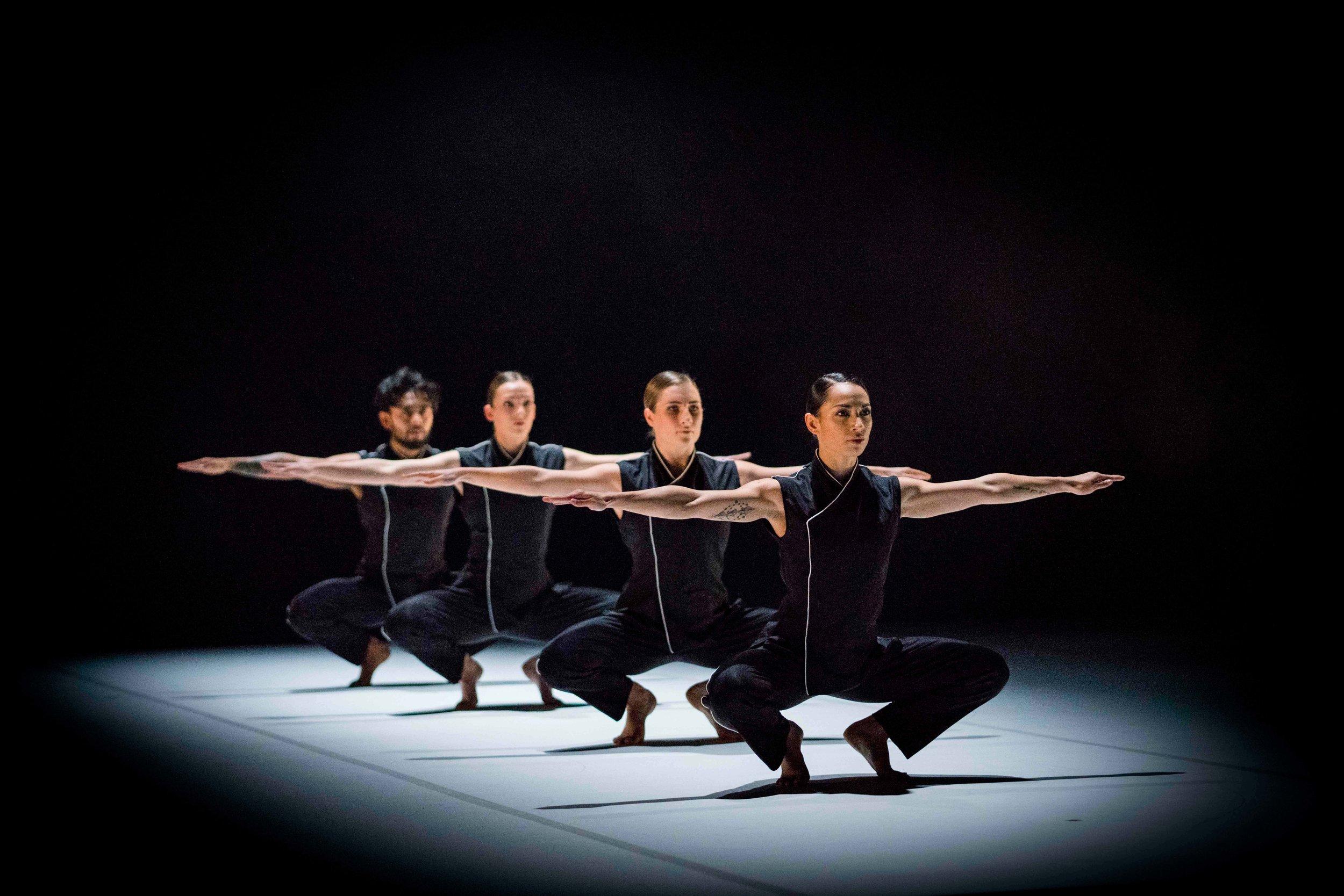 The New Zealand Dance Company performs 'Sigan' by Jae Duk Kim. Photo by John McDermott