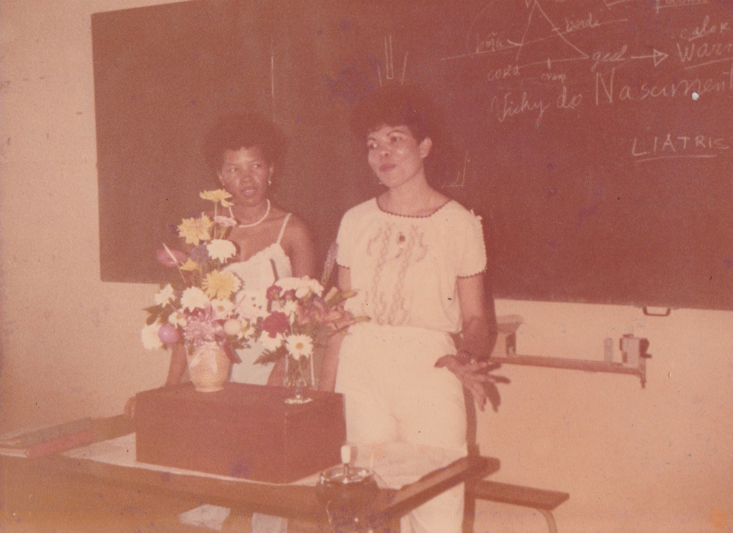 Flower design presentation (1982)