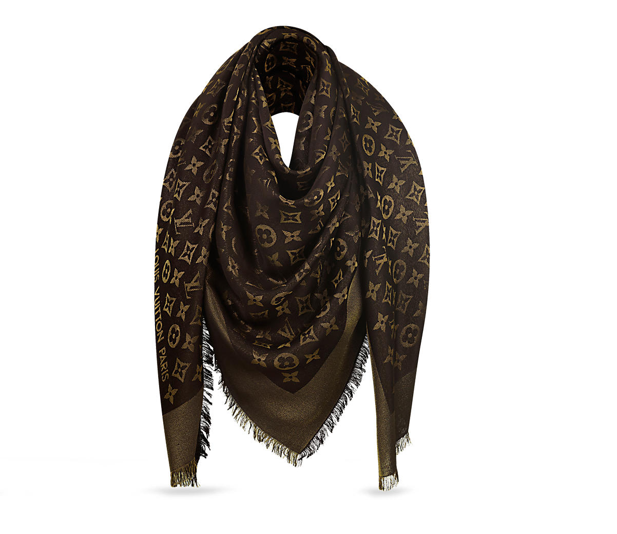 Monogram Shine Shawl Click   Louis Vuitton    Rated: Timeless Piece