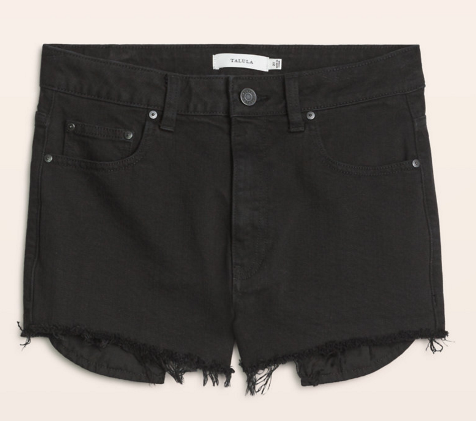 Aritzia High-rise vintage shorts   click here  . Mid rise   click here  .
