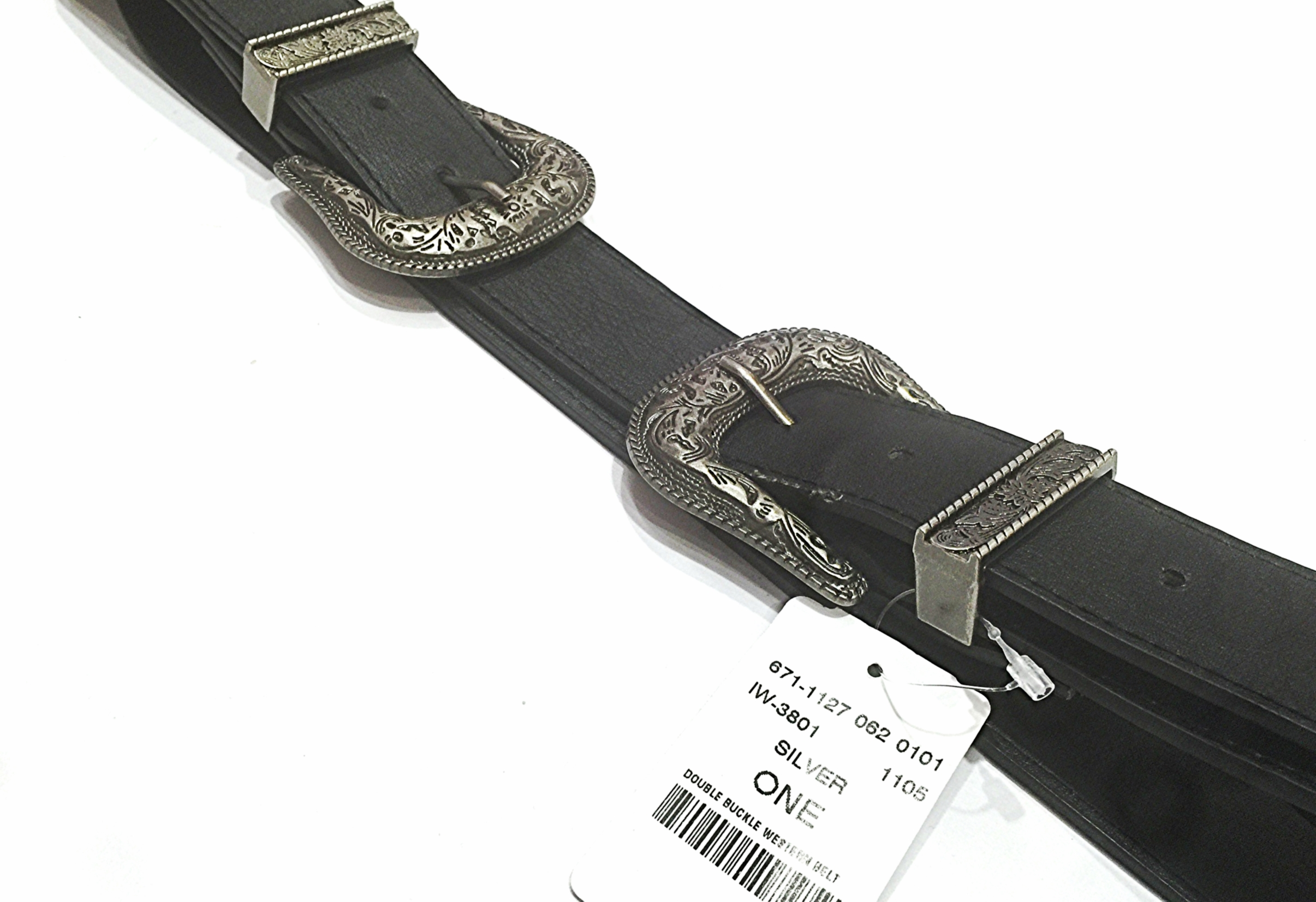 Mendocino   Faux leather double buckle belt. Mendocino is a store like many that carries multiple brands. Fortunately for them, unfortunately for us, they have such a high turn over rate their website doesn't have an inventory list. To purchase this belt find a store near you and contact them directly to see whats in stock!    Click here   .    You can pair this belt with jeans, maxi skirts, dresses, or jean shorts!