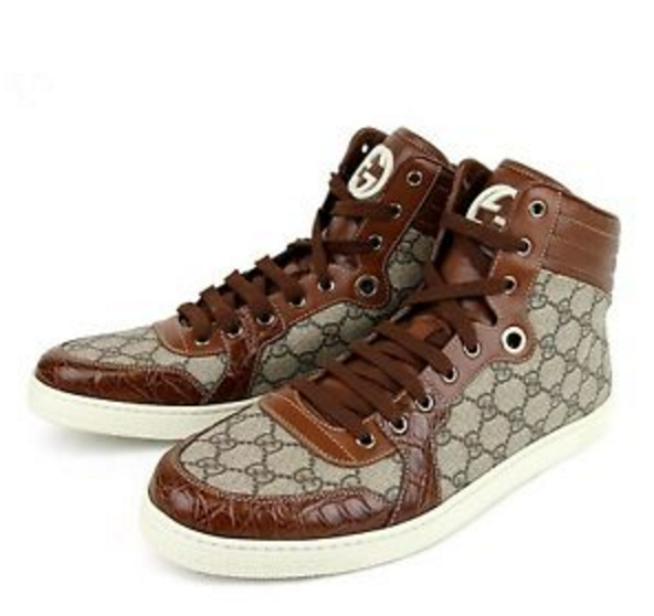Gucci Gucci high-tops   click here  .