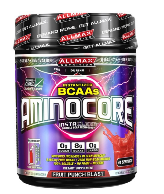 Amino acids are essential when it comes to maintaining and gaining muscle mass! Get rid of the processed fruit punch and get ready to indulge yourself in All Max Fruit Punch Blast. Adding half a scoop to ice cold water usually once after every meal or during a workout. Or whenever I just want a sugary drink!