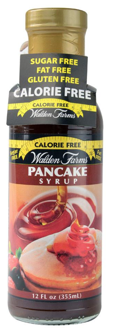 "I think the logo use to say ""saving you 10,000 calories a month."" They deff weren't lying!! It taste exactly like maple syrup without the regret! Not saying Maple syrup (the real thing) is bad for you however if you're trying to cut calories and sugar its properly not the best thing to have."