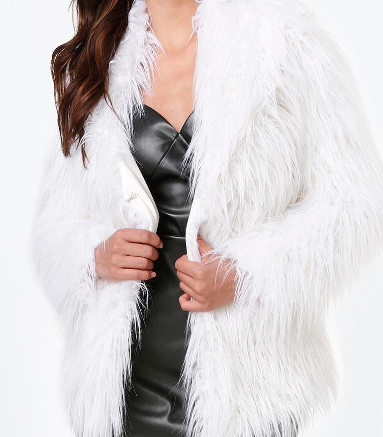 Ahhh this faux fur tho!!!!!