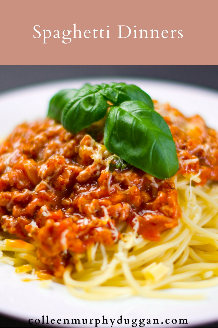 Spaghetti Dinners Blessed Silence Colleen Duggan Catholic Writer
