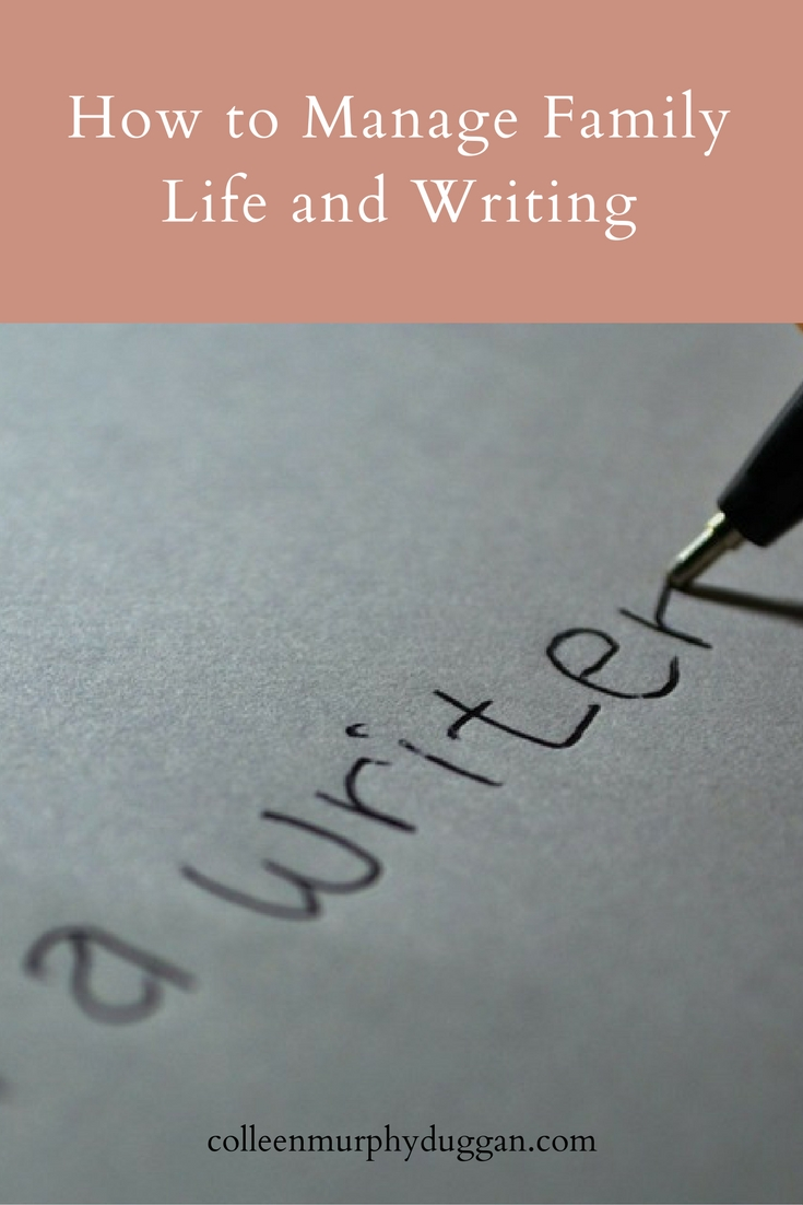How to Manage Family Life and Writing by Catholic Writer Colleen Duggan