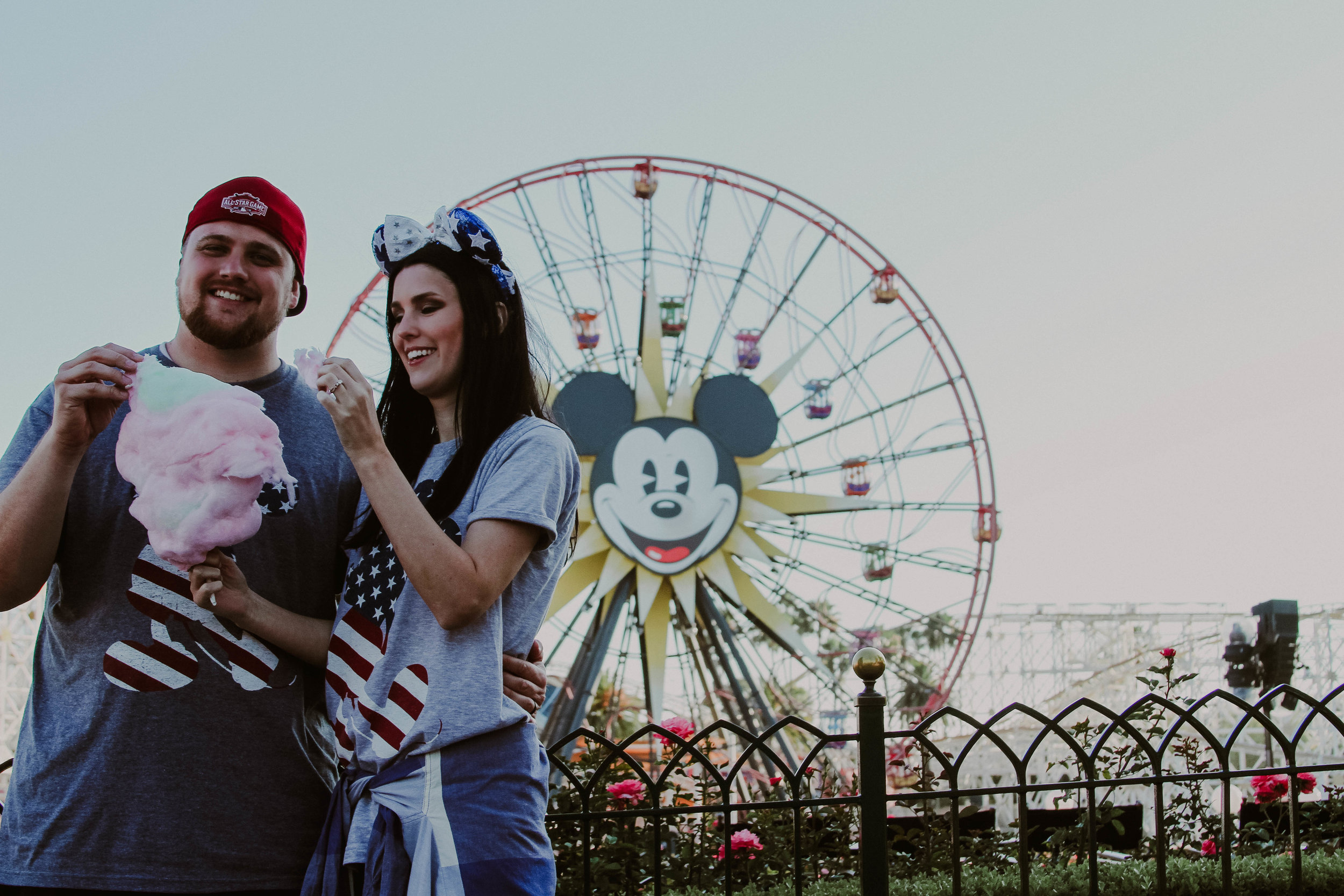 The last time we were at Disneyland on 4th of July!