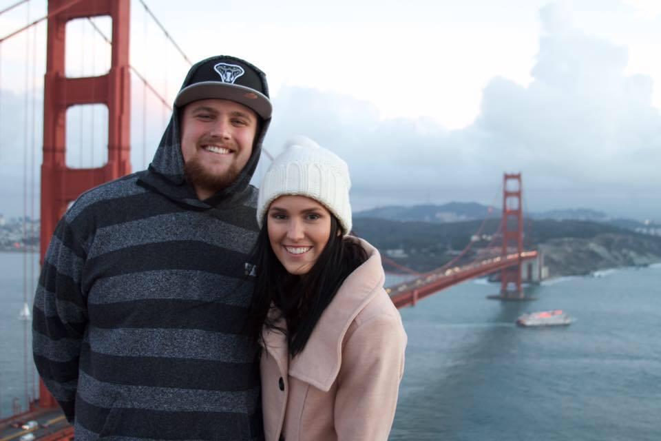 San Francisco, Golden Gate Bridge on our 2 year Anniversary