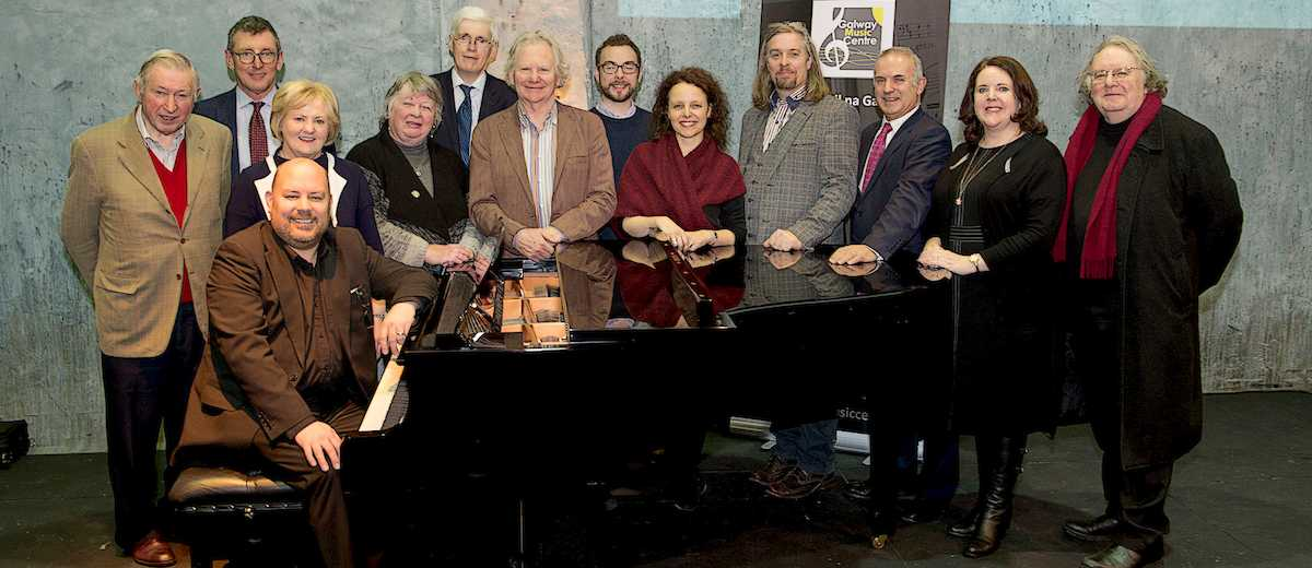 Members of the Galway Music Centre Board of Directors, pictured at the official launch of the centre.