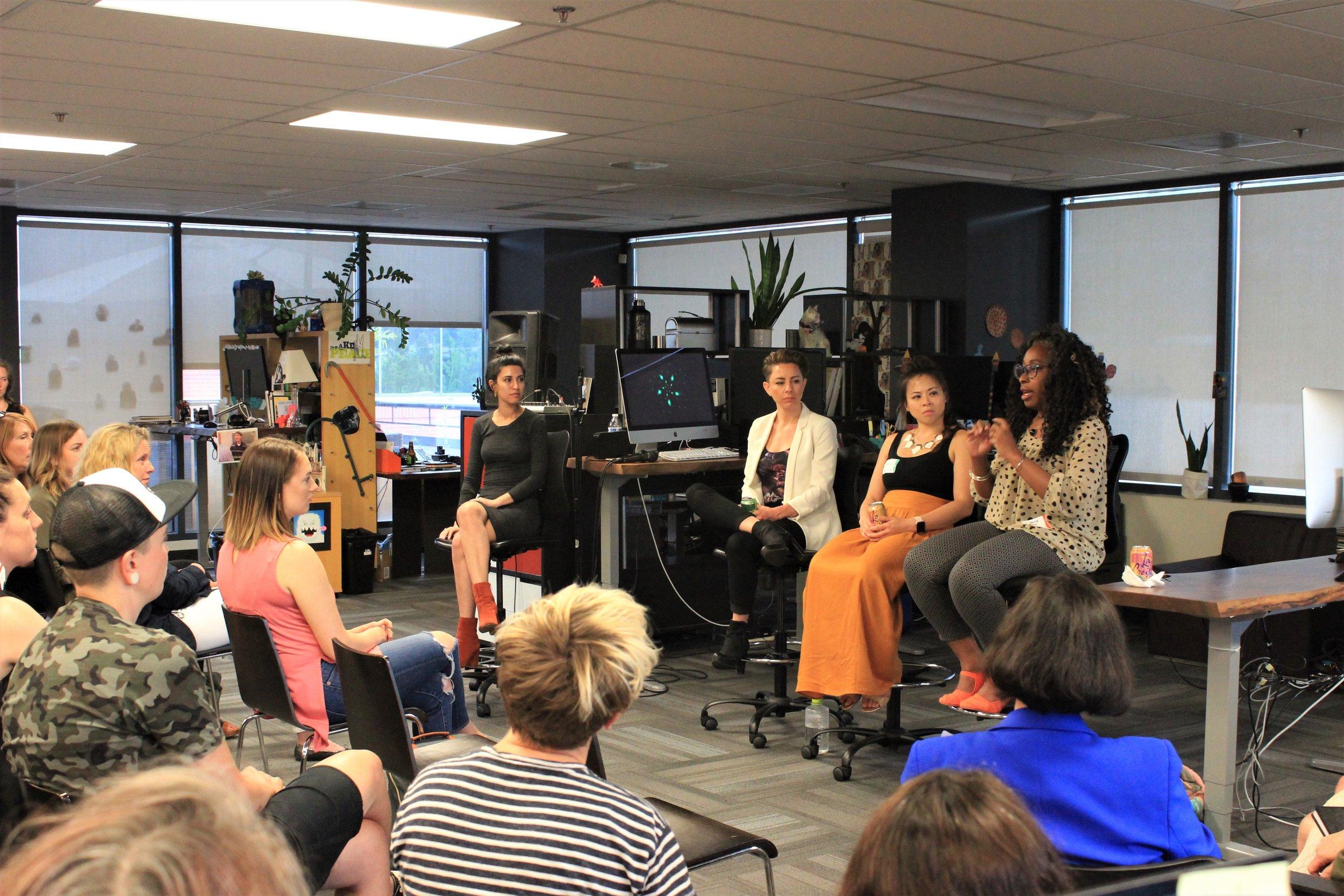Creative Women in Tech @ Quango