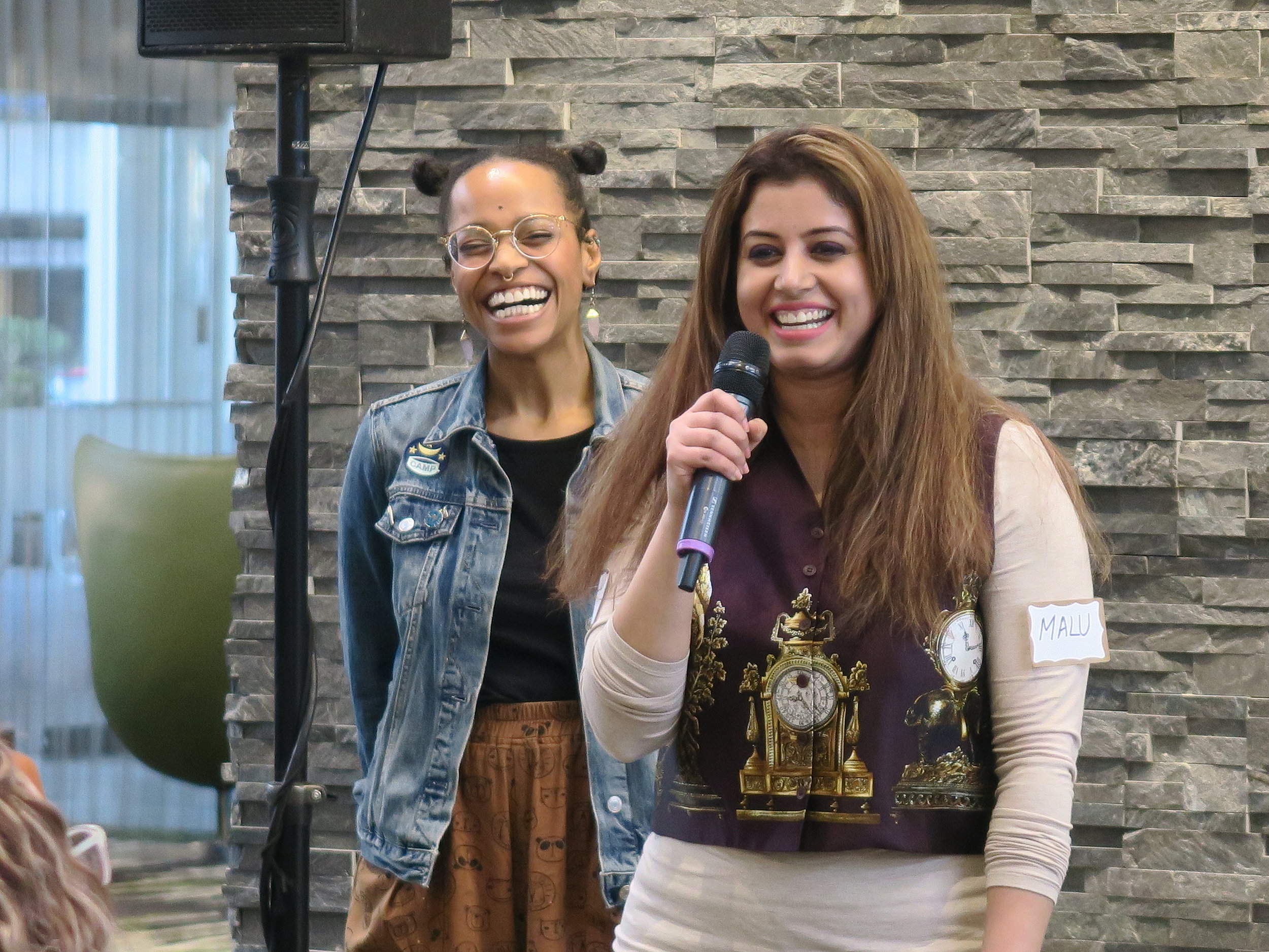 PDXWIT March Happy Hour @ Cambia Health, 3/19/19, A speaker presents