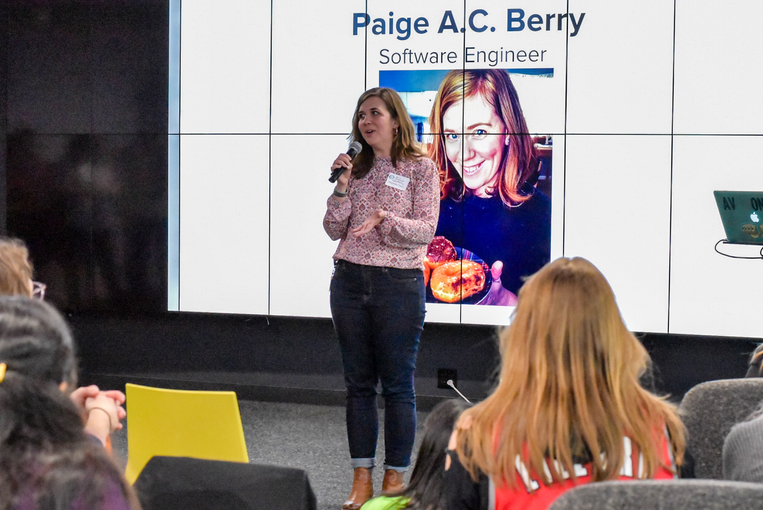 PDXWIT April Happy Hour @ New Relic, 4/16/19, Paige A.C. Berry - Software Engineer at New Relic - speaks