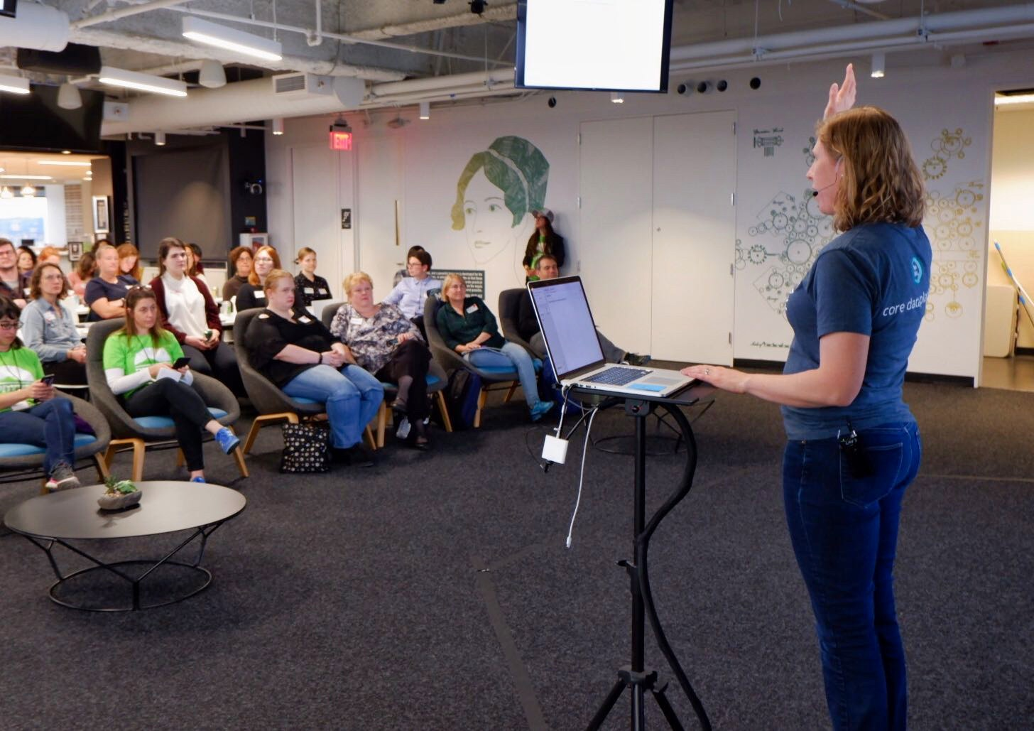 PDXWIT How to Navigate The Tech Field @ New Relic, 4/23/19 - Ashley Puls, a distinguished engineer and architect at New Relic, speaks