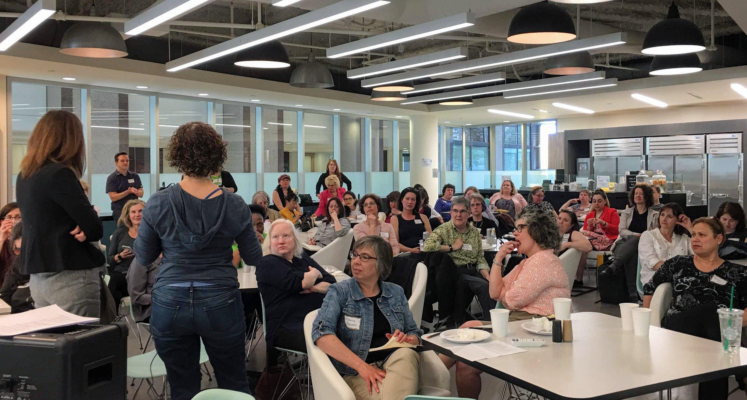 PDXWIT Experienced Women in Tech @ Corvel, 4/30/19 - Speakers present