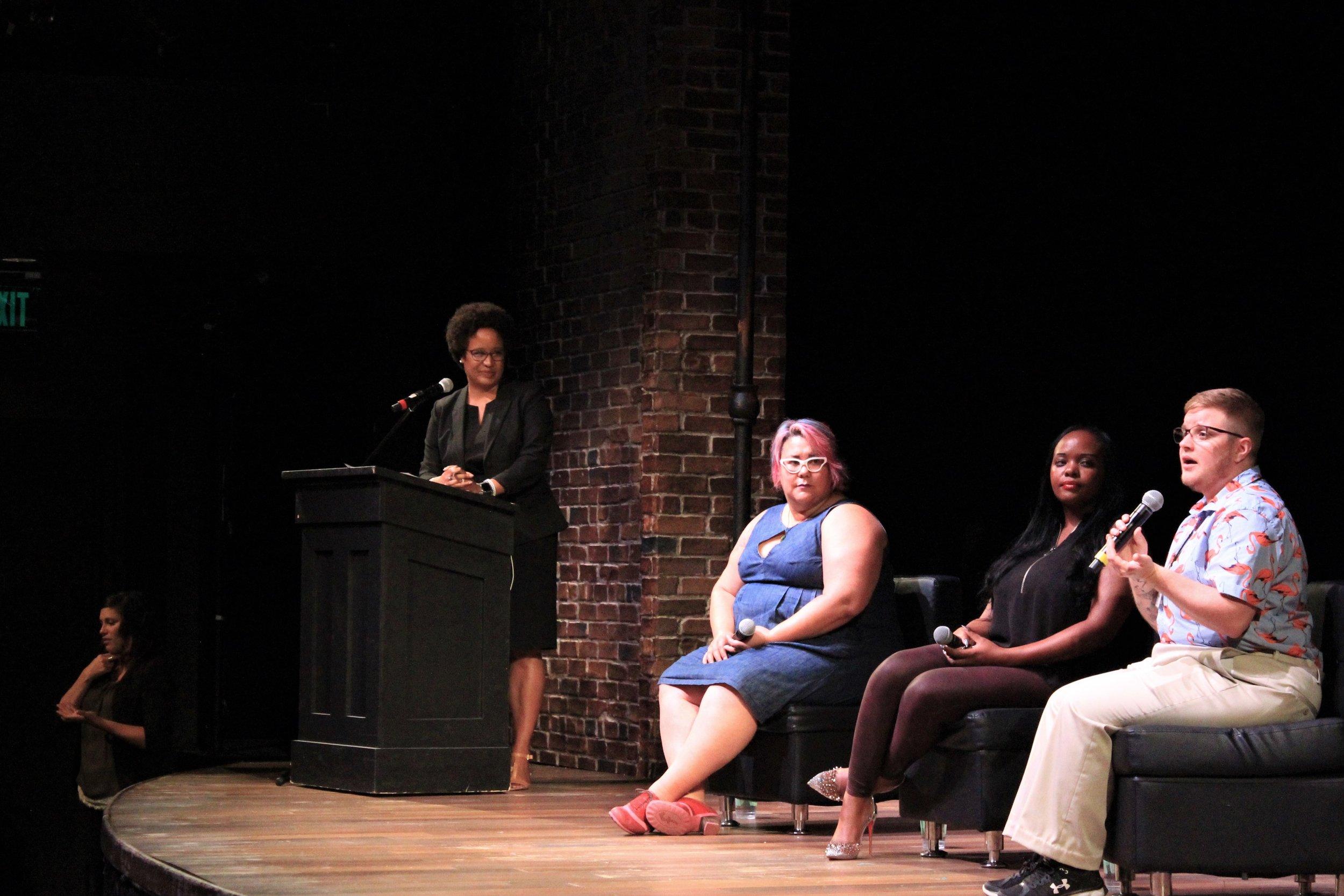Panel speakers on stage (2).jpg