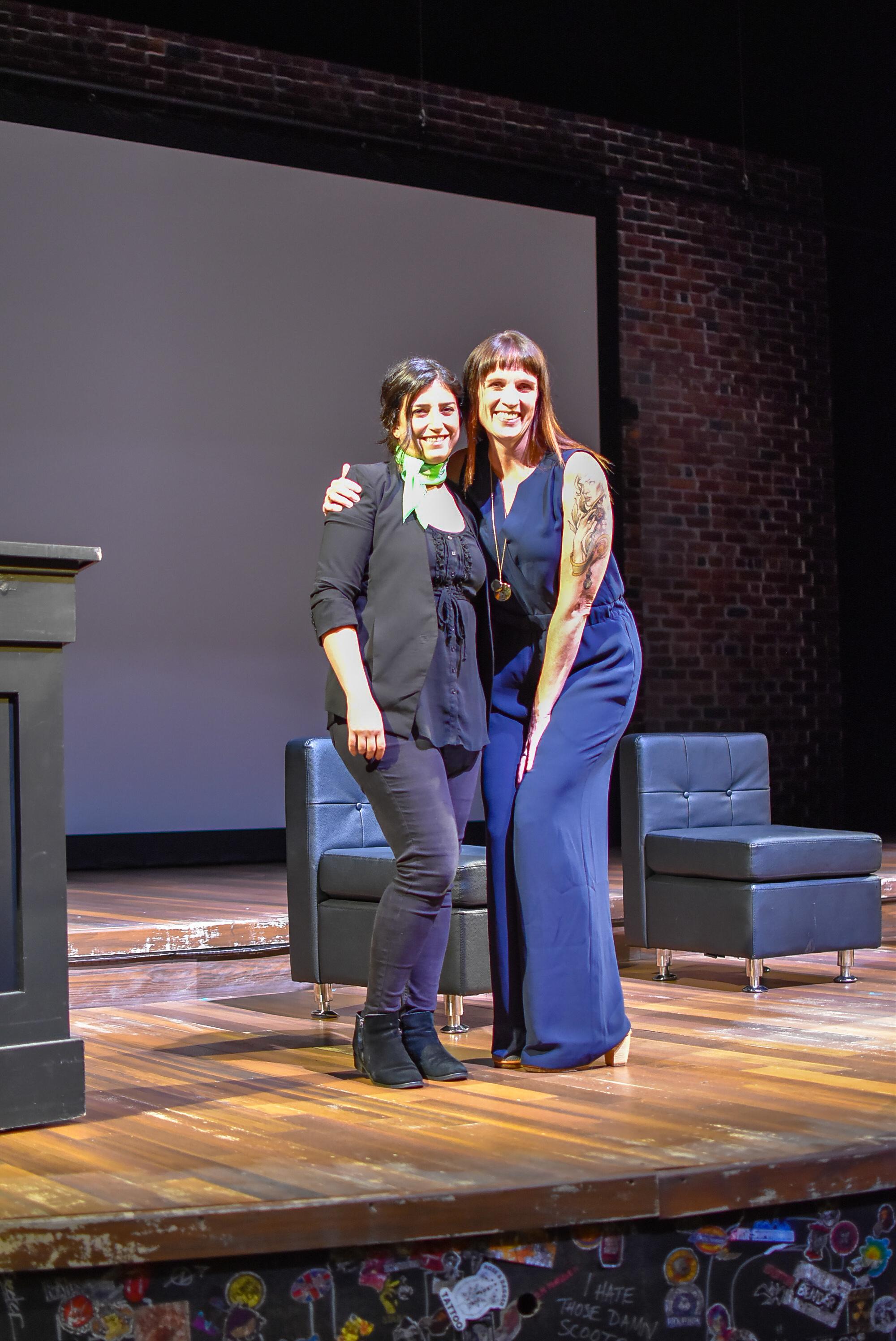 Amy Occhialino and Areza Seifpour.JPG